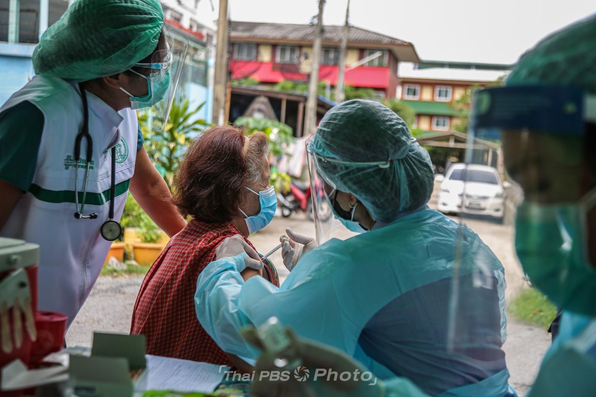ทีม CCRT ลุยฉีดวัคซีนผู้สูงอายุ ตามชุมชนทั่ว กทม. | 16 ก.ค. 64